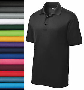 NEW Sport-Tek® CASUAL GOLF DRY FIT SPORT SHIRT Polo ST640 S -2XL 100% POLYESTER