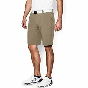 Under Armour Men's Match Play Shorts CanvasTrue Gray Heather 34
