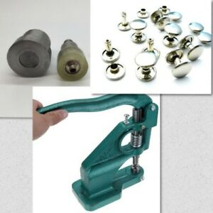 6-15mm Hand Press Machine and Two Piece Double Cap Rivets Tool Die Craft Setting