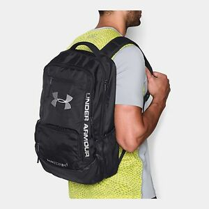 NEW NWT UA Under Armour Hustle II Storm1 Water Resistant Backpack Back to School