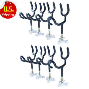 8PCS! Excellent Amarine-made Marine Fishing Rod Holder Wire Rod Holder W Mount