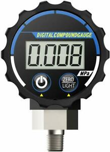 Elitech PG-20 Digital Vacuum Pressure Gauge for Air and Compatible Gases $50.39