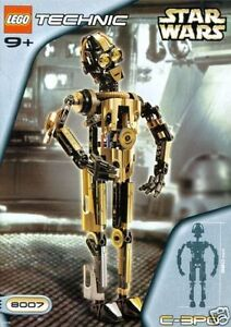 Lego Star Wars #8007 Technic C-3PO New MISB