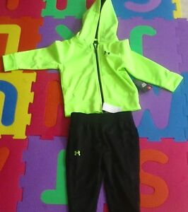 Under Armour Toddler Boys' Active Hoodie and Pant Set 27B4200