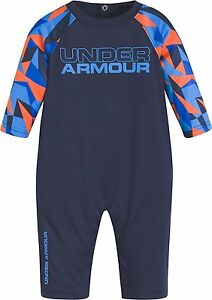Under Armour Baby Boys' Geo Cache Coverall Midnight Navy 69M