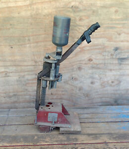 Vintage MEC Super Speeder Model 400 Mounted on Wood Shot Shell Reloading Press