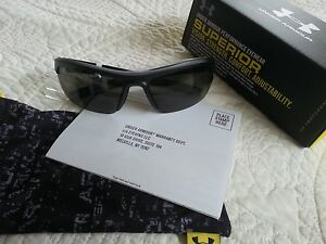 Under Armour Stride XL Sunglasses Satin BlackGray Model: 8600041-010100
