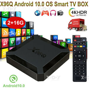 X96 MINI S905W 2+16G Android 7.1.2 Nougat 4K Quad Core Smart TV BOX WIFI MINI PC