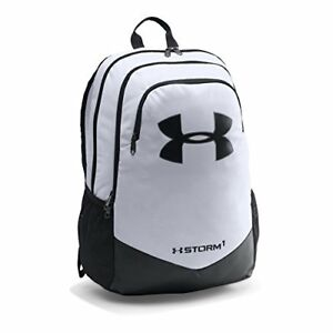 Under Armour Boys' Storm Scrimmage Backpack WhiteBlack One Size