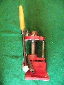 LYMAM ALL AMERICAN  TURRET PRESS RELOADER WITH DIES  357 cal