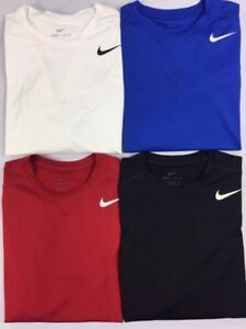 Boy's Youth Nike Dry Dri-Fit Fitted Long Sleeve Shirt