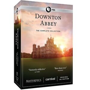 DOWNTON ABBEY the Complete Series Collection on DVD 1 6 Season 1 2 3 4 5 6 $33.49