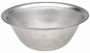 SORI YANAGI - Stainless Steel Punch Pressed Strainer (4 Sizes Available!) JAPAN
