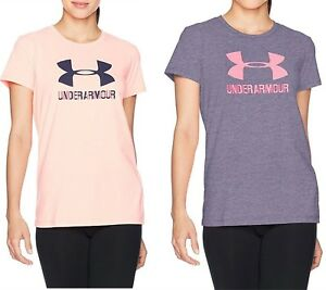 Under Armour Women Quick-Dry UA Sportstyle Crew Neck Loose Fit T-Shirt