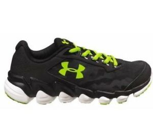 NEW Under Armour Boys Athletic Spine Running Shoes 1286155-001 Camo Black Youth