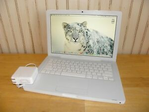 Apple Macbook Mid 2006 A1181 1.83GHz 120GB 2GB OS X 10.6 Snow Leopard