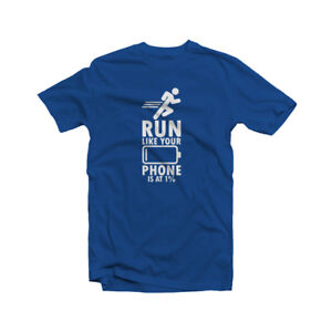 Running T-Shirt Jogging Fitness Workout Training GYM Sarcastic Funny Humor Gift