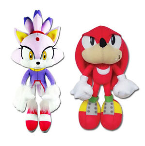 REAL Great Eastern  Sonic the Hedgehog Plush SET - Blaze the Cat