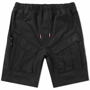 NIKELAB ACG CARGO SHORTS MEN'S XS M 880981-010 WITH PACKING LIST NIKE PANTS