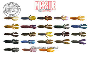 Missile Baits D Bomb Creature Bait Jig Trailer 4.5in 6pk - Pick
