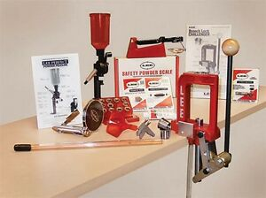 Lee Precision Breech Lock Challenger Press Kit Complete Powder Handling System