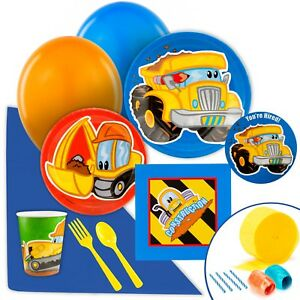 Construction Pals Value Party Pack by Birthday Express