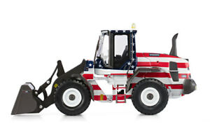Motorart Volvo L600 Loader USA and Canadian Flag on sides 300056 1:50 NEW L.E.