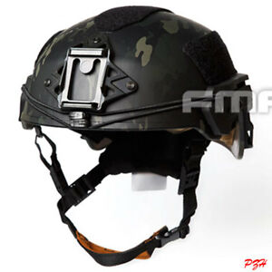 FMA NEW Tactical EX Ballistic Helmet TWF For Airsoft Paintball TB1268-MCBK