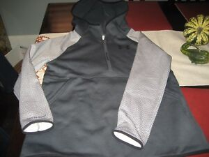 GIRLS YOUTH UNDER ARMOUR COLDGEAR STORM HOODIE HOODY SIZE YXL GRAY NWT