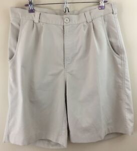UNDER ARMOUR Men's Pleated Poly Golf Shorts Size 34