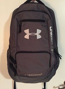 UNDER ARMOUR STORM 1 GRAYBLACK BACKPACK WITH LAPTOP COMPARTMENT