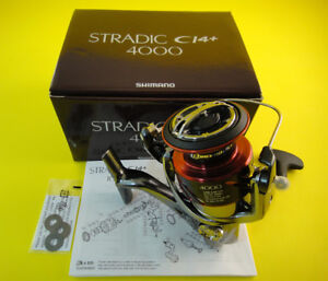 NEW SHIMANO STRADIC CI4+ 4000 FB 4000FB **FAST 1-3 DAYS DELIVERY**