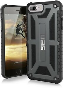 UAG iPhone 8 Plus Case Monarch Slim Rugged Military Drop Tested Cover GRAPHITE