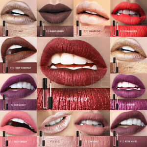 FOCALLURE 25 Colors Long Lasting Waterproof Matte Lipstick Liquid Lip Gloss 3
