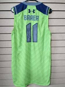 Worn By Jose Juan Barea Under Armour Elite 24 Jersey Autographed Sign Basketball