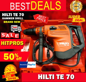 HILTI TE 70 HAMMER DRILL, LATEST MODEL, NEW, STRONG, ORIGINAL, FAST SHIP
