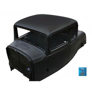 1932 Ford 5-Window Coupe Solid Roof Steel Body with Cowl VentDoorsDecklid