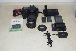 Canon EOS 50D 15.1 MP DSLR Camera  w EF-S IS 28-135mm Lens Combo