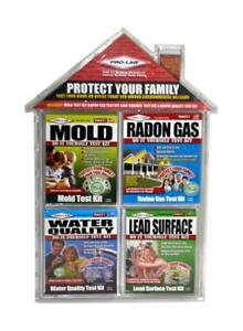 Pro-Lab Home safety test kits Brand New. MoldRandon GasWater Quality and Lead.