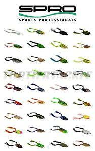SPRO Dean Rojas Bronzeye Frog 65 Topwater Lure Select Color 44 Colors
