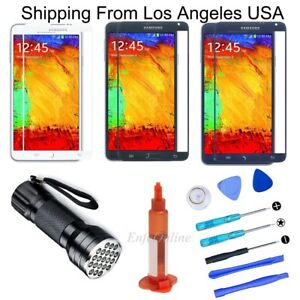 For Samsung Galaxy Note 3 Front Touch Screen Glass Lens Replacement Tool UV Glue