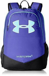 Under Armour UA Storm Scrimmage Backpack Constellation Purple Camp Travel Bag