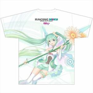 Racing Hatsune Miku 2017 ver. Ful Graphic T-shirt M size Good Smile Racing