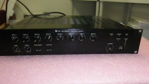 TOA 900 Series II A 912MK2 120 Watt Modular Mixer Power Amplifier Complete Knob