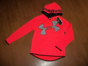 NWT girls youth Under Armour hoodie size YMD  $44.99