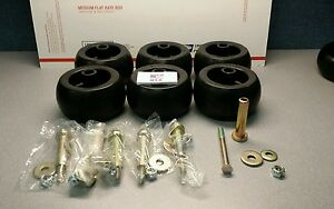 6 USA MADE Replacement Deck Wheel + Kit Fits Exmark 103-3168 103-4051 1-603299