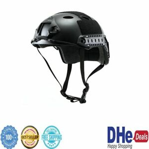 Tactical Helmet Swat Protective Gear Safety Paintball Military Kevlar Airsoft