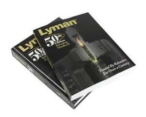 Lyman 50th Edition Reloading Manual Book Guide Softcover cartridges included new
