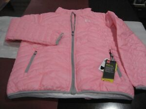 Under Armour Girls ColdGear Reactor Jacket PINK Youth EXTRA LARGE YXL NWT $50.99