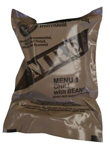 NEW MRE Singles 2022 Inspection Date US MILITARY Meals Ready to Eat